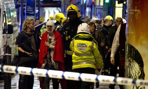 Apollo theatre collapse injures more than 80 people in London's West End