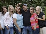 Reality stars! TLC will produce nine, one-hour episodes about Brady Williams (center) and his five wives, pictured, from left, Paulie, Robyn, Rosemary, Nonie and Rhonda