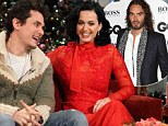 Katy Perry explains how she moved on from 'the darkest place' after split with Russell Brand and reveals she will spend Christmas with new love John Mayer