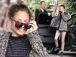 Natural beauty: Nicole Richie steps out makeup-free in Los Angeles
