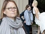 When Jodie met Marilyn! Elysium star Foster gets some unexpected company while heading to a solo lunch