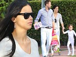 Model parents! Victoria's Secret Angel Adriana Lima and husband Marko Jaric attend daughter's Christmas play in Miami