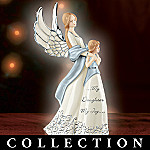Forever My Daughter Musical Figurine Collection - Angel Musical Figurines Celebrate Mother-Daughter Love