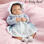 Dolls-Baby Stephanie So Truly Real(TM) Silicone Limbed Lifelike Baby Doll