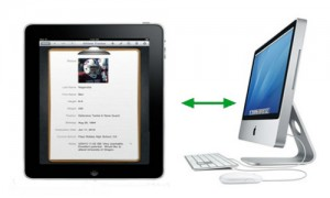 How to Synchronize an iPad with a new computer system.
