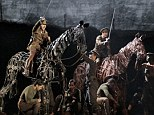 Charge: The West End hit War Horse will be screened at cinemas for £14 a seat - a fraction of the theatre price
