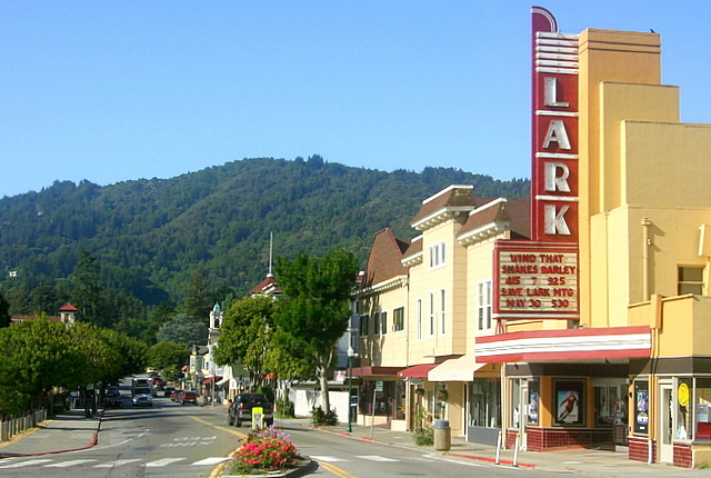 Downtown Larkspur, California, Marin County