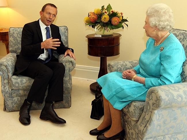 Tony Abbott swore allegiance to the Queen as incoming Prime Minister but has ruled out bringing back imperial honours.