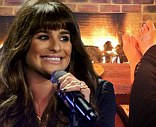 Time to recharge: Lea Michele, shown performing on Thursday on The X Factor USA, tweeted on Sunday that's she's ready to relax