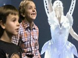 'My boys said they loved it!' Britney Spears' sons Jayden & Sean watch in awe as she rehearses her Las Vegas show