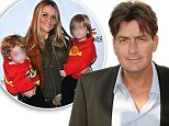 Charlie Sheen 'given permission to spend Christmas with his twins by temporary guardian Scott Mueller'