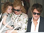 She's an angel! Nicole Kidman keeps her shimmery girl Faith close at parents' golden wedding anniversary with husband Keith Urban