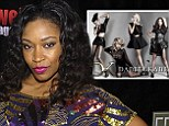 Left out: D. Woods has been excluded from Danity Kane's reunion plans