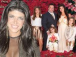 Saving money? Under fire Teresa and Joe Giudice release cheap-looking holiday greetings card as they prepare for fraud trial