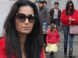 She takes after you! Padma Lakshmi steps out with her mini-me daughter Krishna in complimentary jackets and boots to go shopping