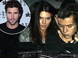'Kendall will break Harry's heart': Brody Jenner claims his little sister will leave One Direction lothario Styles heartbroken