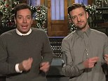 Dancing queens: Jimmy Fallon and Justin Timberlake showed off their moves in the new trailer for Saturday Night Live