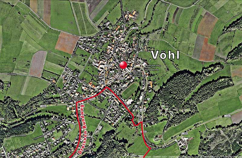 Wandern am Edersee: Dreiseen-Rundweg führt durch Vöhl