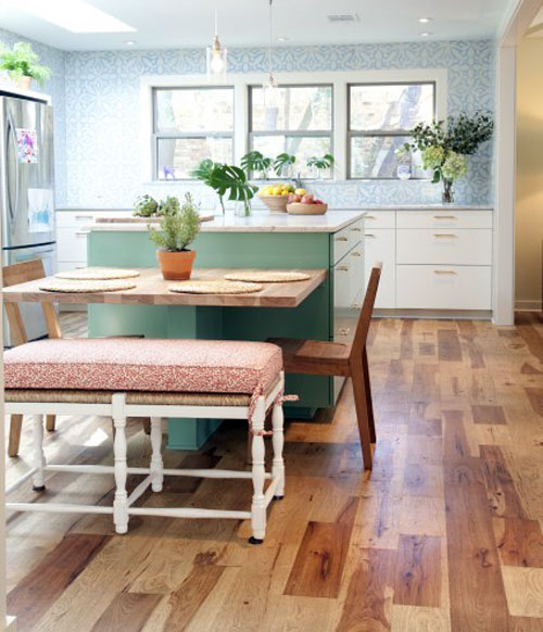 Small Kitchen Table And Bench Set - Home Interior House Interior