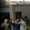 AAP Party members meet Lieutenant Governor Najeeb Jung to state claim to form a Government