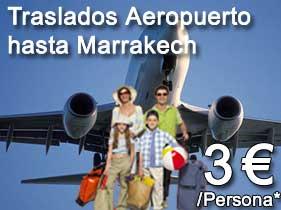 Transporte aeropuerto Marrakech