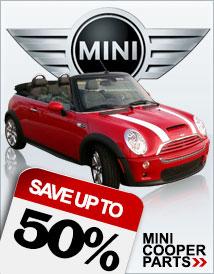 25% off Mini Cooper Auto Parts