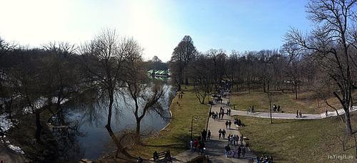 Parcul Nicolae Romanescu - Panorama