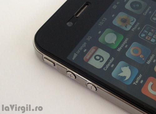 iPhone 4 - Butoanele de volum