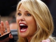 Model Christie Brinkley attends a game between the
