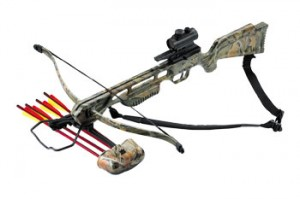 This is an example picture of a cheap crossbow.