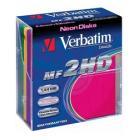 "Купить Дискеты 3.5"" 1.44МБ VERBATIM DATALIFE форм.,цвет.,пласт.кор.,10шт/кор."