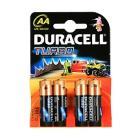 """Купить Батарейки AA DURACELL """"LR6-4BL TURBO"""" (4шт/уп) (цена за 4шт)"""