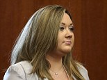 Injured: Shellie Zimmerman, the estranged wife of George Zimmerman, was involved in a car accident today caused by a suspected drunk driver