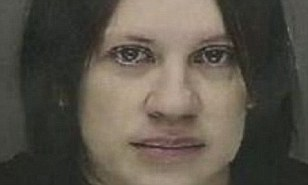 Burned: Kristy Ryan McDermed could face as long as 93 days in jail and a $500 fine for putting bleach in her husbands eye drops