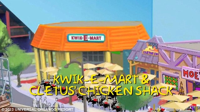 Kwik-E-Mart: A parody of American convenience stores, such as 7-Eleven and Circle K, and depicts many of the stereotypes about them. It is notorious for its high prices and the poor quality of its merchandise