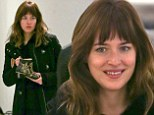 She has a fetish for fashion! Fifty Shades of Grey star Dakota Johnson takes time off from filming for a bit of shoe shopping