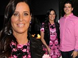 Regret: Patti Stanger, pictured here with her boyfriend David Krause, wishes she had a family of her own