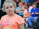 You better redneckognise the Thompson family! Honey Boo Boo and Mama June cause a stir at Disney World for Christmas