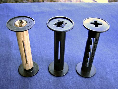 Three Generations of 120 Spools