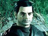 Captain Black from 'Captain Scarlet And The Mysterons'