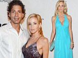 Former couple: Camille Grammer and ex-boyfriend Dimitri Charalambopoulos, shown together in May 2012, split after an ugly fight in October