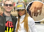 She's Gotta Man! Musician Eve flashes a bit of bling in an Instagram snap amid rumours that she was recently engaged