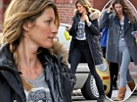 UGG-H, Gisele! The $42m supermodel recycles old shirt and sports similar cozy boots for a nearly identical gym outfit she sported two days earlier in Boston