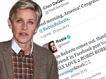 'Congratulations, Robin Roberts!': Ellen Degeneres and Rosie O'Donnell lead the way as stars tweet their support after GMA host comes out as gay