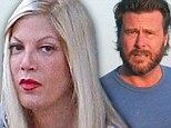 'She's devastated and embarrassed': Tori Spelling, 40, 'is privately struggling after husband Dean McDermott cheated with 28-year-old'... but may not divorce