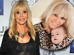 Britt Ekland poses with grandson Cash after admitting she regrets not growing old gracefully