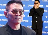 Action star: Jet Li, shown in September in China, revealed last week on a Chinese talent show that he's being treated for an overactive thyroid