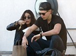 Intimate lunch: Vanessa Hudgens and Austin Butler were seen sharing an intimate lunch from Gjelina Take Away in Venice, California, on Sunday