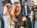Cooling off? Normally affectionate Joe Jonas slows down his PDAs with girlfriend Blanda Eggenschwiler