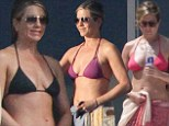 Another day, another bikini! Jennifer Aniston flaunts enviable figure in variety of barely there two-pieces on Mexican getaway